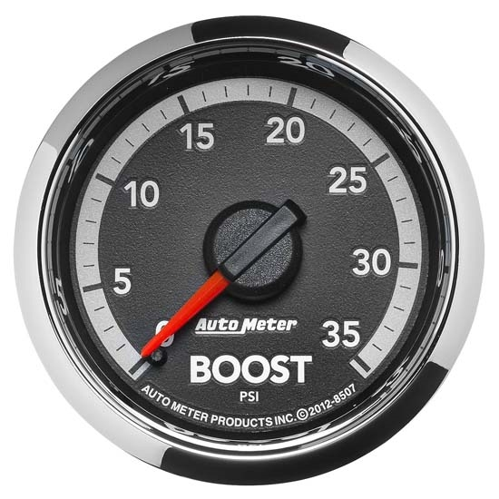 Auto Meter 8507 Gen 4 Dodge Factory Match Mechanical Boost Gauge