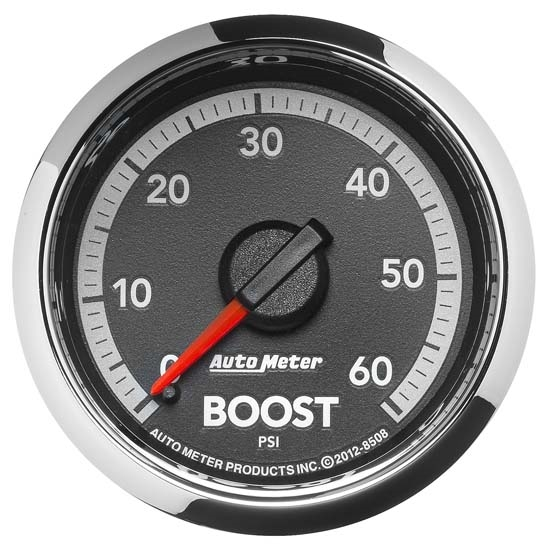 Auto Meter 8508 Gen 4 Dodge Factory Match Mechanical Boost Gauge