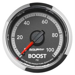 Auto Meter 8509 Gen 4 Dodge Factory Match Mechanical Boost Gauge