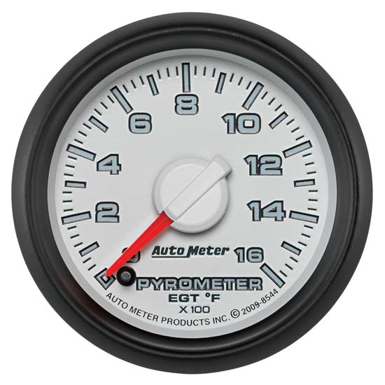 Auto Meter 8544 Gen 3 Dodge Digital Stepper Motor Pyrometer Gauge