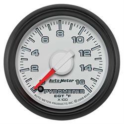Auto Meter 8544 Gen 3 Dodge Digital Stepper Motor Pyrometer Gauge