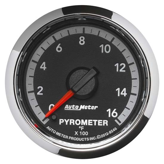 Auto Meter 8546 Gen 4 Dodge Digital Stepper Motor Pyrometer Gauge