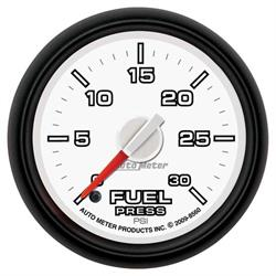 Auto Meter 8560 Gen 3 Dodge Digital Stepper Motor Fuel Pressure Gauge