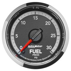 Auto Meter 8561 Gen 4 Dodge Digital Stepper Motor Fuel Pressure Gauge