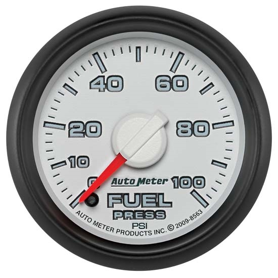 Auto Meter 8563 Gen 3 Dodge Digital Stepper Motor Fuel Pressure Gauge