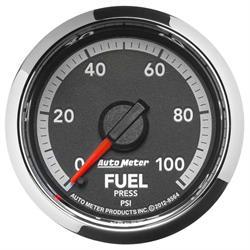 Auto Meter 8564 Gen 4 Dodge Digital Stepper Motor Fuel Pressure Gauge