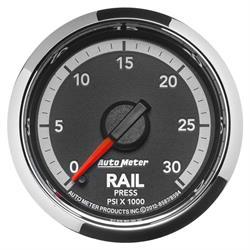 Auto Meter 8594 Gen4 Dodge Digital Stepper Motor Fuel Rail Press Gauge