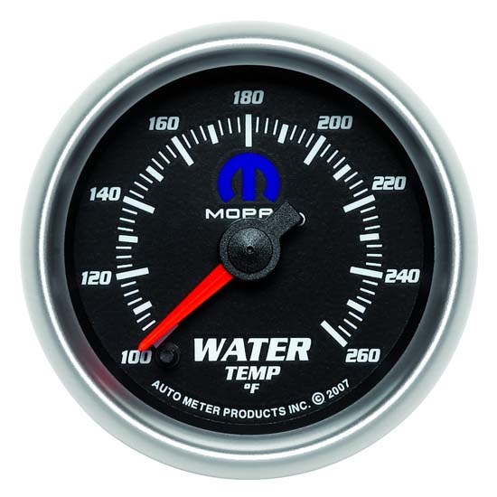 AutoMeter 880018 Mopar Digi. StepperMotor Water Temperature Gauge