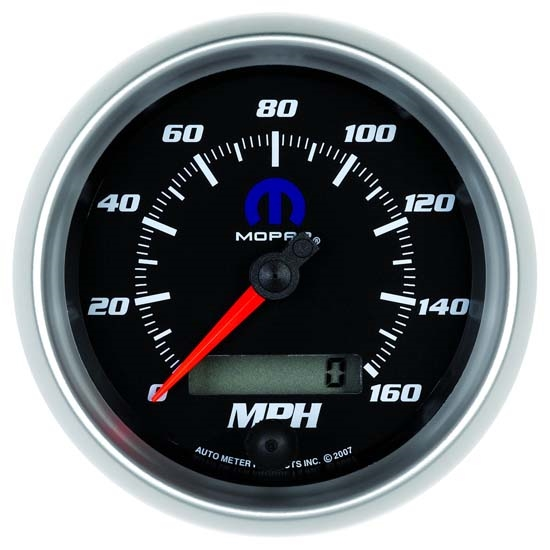 Auto Meter 880022 Mopar Air-Core Speedometer Gauge, 3-3/8 Inch
