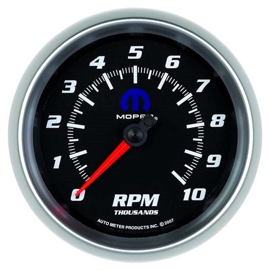 Auto Meter 880024 Mopar Air-Core In-Dash Tachometer Gauge, 3-3/8 Inch