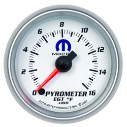 Auto Meter 880031 Mopar Digital Stepper Motor Pyrometer Gauge