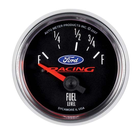 Auto Meter 880075 Ford Racing Air-Core Fuel Level Gauge, 2-1/16 Inch