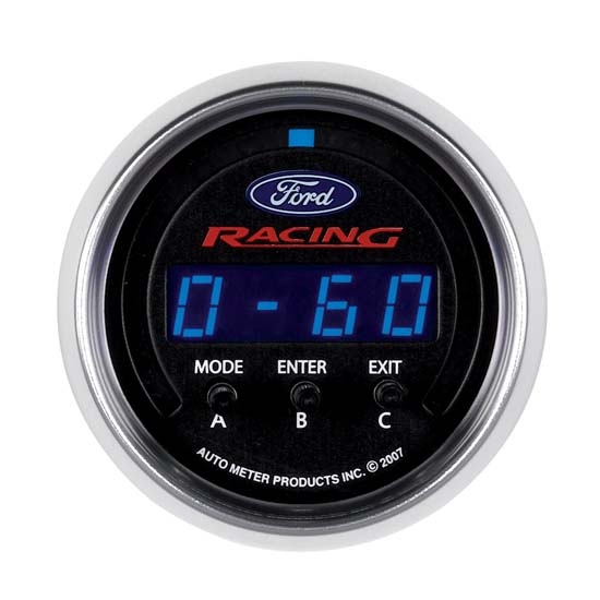 Auto Meter 880089 Ford Racing Digital D-PIC Acceleration Gauge