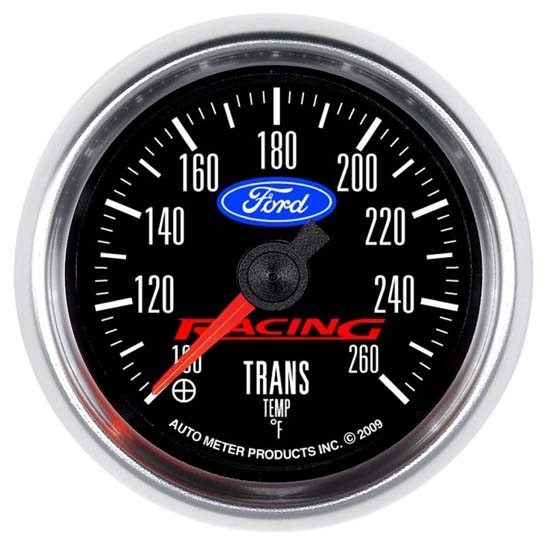 Auto Meter 880314 Ford Racing Digital Stepper Motor Trans Temp Gauge