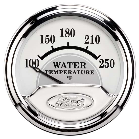 Auto Meter 880353 Ford Masterpiece Air-Core Water Temperature Gauge