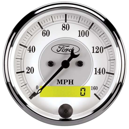 AutoMeter 880355 Ford Masterpiece Air-Core Speedometer Gauge