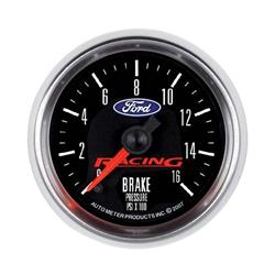 Auto Meter 880362 Ford Racing Digital Stepper Motor Brake Press. Gauge