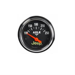 Auto Meter 880431 Jeep Air-Core Axle Temperature Gauge, 2-1/16 Inch