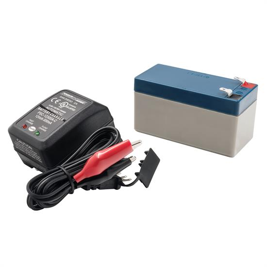 Auto Meter 9217 Extreme Environment Battery Pack/Charger Kit, 12V, 1.4AH