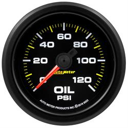 Auto Meter 9253 Extreme Oil Pressure Gauge, 2-1/16, 0-120 PSI, Flat