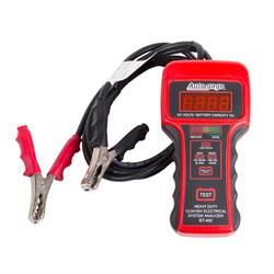 Auto Meter BT-400 Battery Tester, 12V Heavy Duty, Autogage