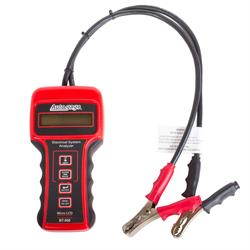 Auto Meter BT-500 Battery Tester, 6/12/24V, Autogage