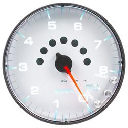 Auto Meter P238128 Spek-Pro Tachometer, 5, 0-8,000 RPM, Flat Lens