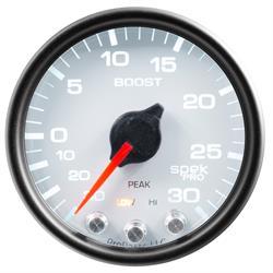 Auto Meter P30212 Spek-Pro Boost/Vacuum Gauge, 2-1/16, 30 PSI, Domed