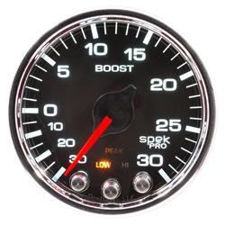 Auto Meter P30231 Spek-Pro Boost/Vacuum Gauge, 2-1/16, 34 PSI, Domed