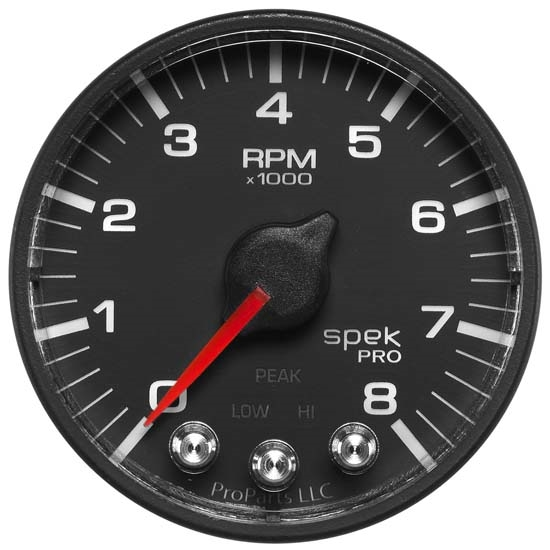 Auto Meter P334328 Spek-Pro Digital Stepper Motor In-Dash Tach Gauge