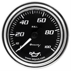 Equus E7244 7000 Series 2 Inch Mech. Chrome Oil Pressure Gauge