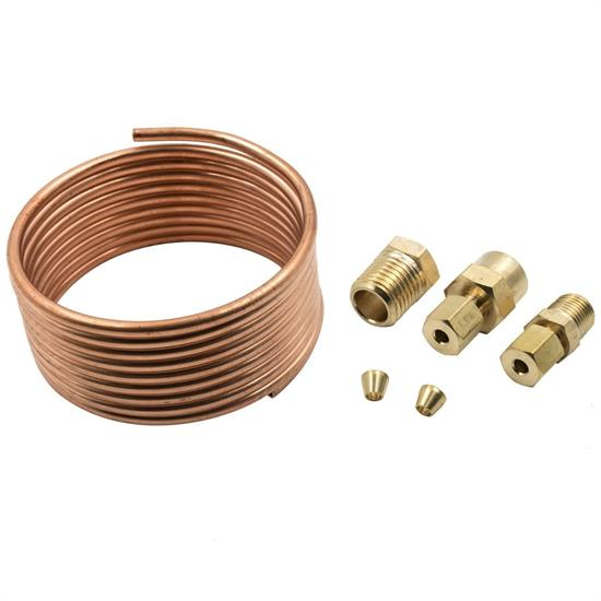 Equus E9901 6ft. Copper Oil Pressure Gauge Tubing/Fittings Kit