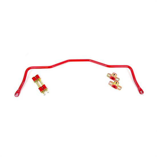 UMI 2113-R 82-02 F-Body Rear Sway Bar, 22mm, Tubular, Red