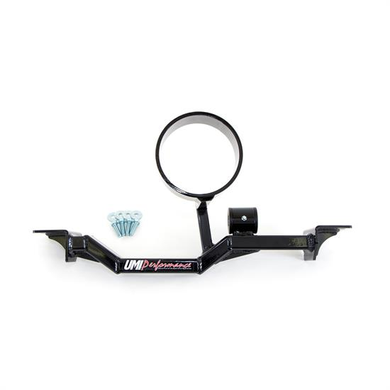 UMI 2203AS-B 93-02 F-Body Tunnel Brace, LT Header, Loop, Black