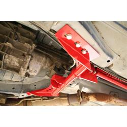 UMI 2232-R 82-92 F-Body Torque Arm Relocation Kit TH400, Red