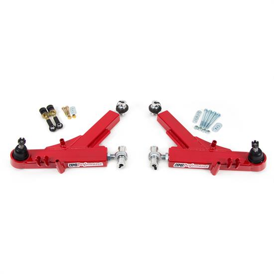 UMI 2309-R 93-02 F-Body Boxed Adj. Lower A-Arms, Rod Ends, Red