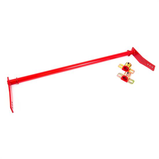 UMI 2513-R 10-11 Camaro Rear Sway Bar, Fabricated, Adj., Red