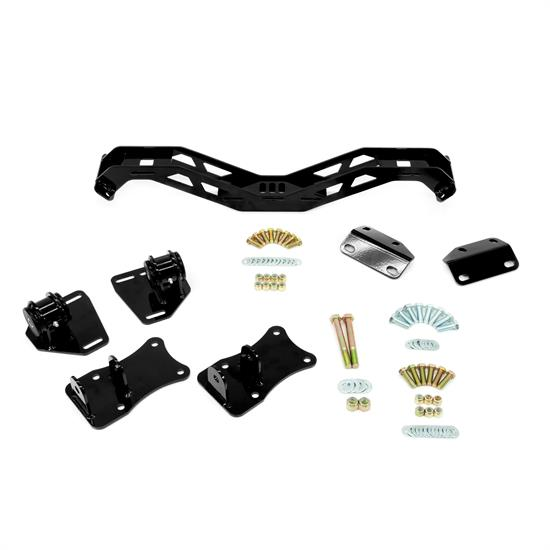 UMI 260810-B 70-74 F-Body LS Swap Kit & T56 Crossmember, Black