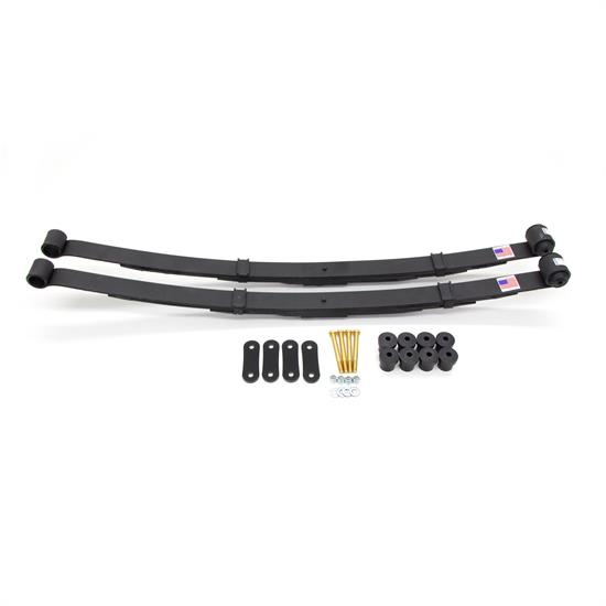 UMI 262025 70-81 F-Body Rear Leaf Spring Kit, Poly bushings