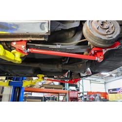 UMI 262824-R 70-81 F-Body Leaf Spring Traction Bars/Mounts, Red