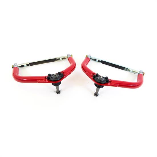 UMI 2656-1-R 70-81 F-Body Upper A-Arms, Front, Adjustable, Red