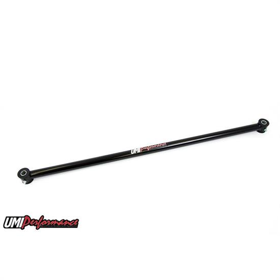 UMI 3658-B 65-70 GM B-Body Non-Adjustable Panhard Bar, Black