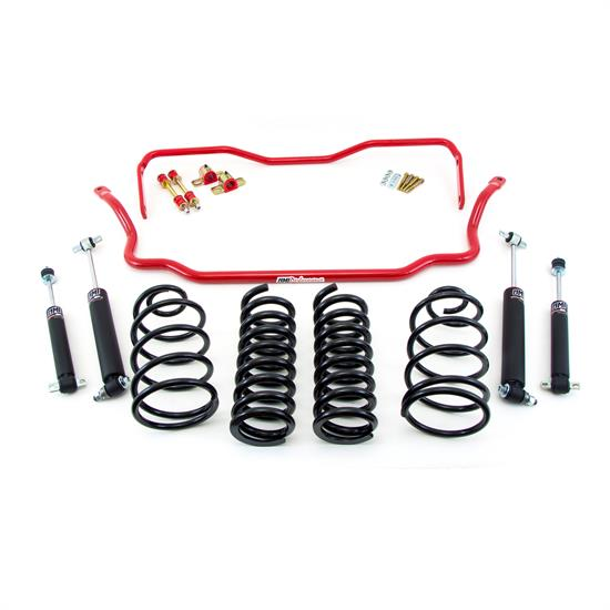 UMI ABF401-1-R 64-66 A-Body Stage 1 Kit, 1 Inch Lowering, Red