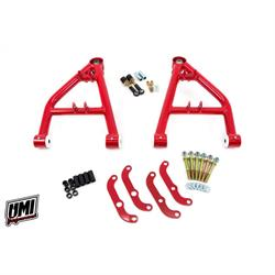 UMI 4062-1-R 64-72 A-Body Corner Max Lower Front A-Arms, Red