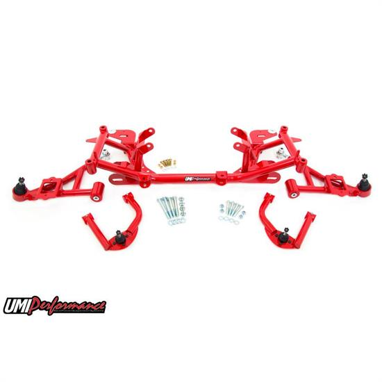 UMI FBS002-R 98-02 F-Body LS1 Front End Kit, Street Stage 2, Red