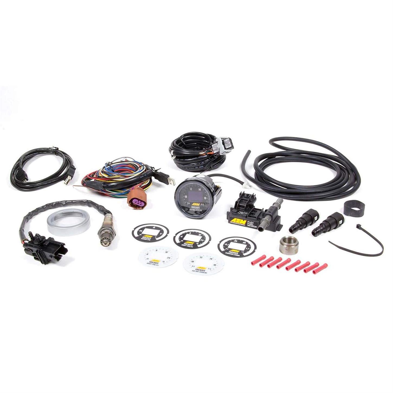 AEM Ethanol Content Flex Fuel Sensor w// 6AN fittings Kit