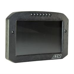 AEM 30-5703F CD-7FLG Carbon Logging & GPS-Enabled Digital Dash