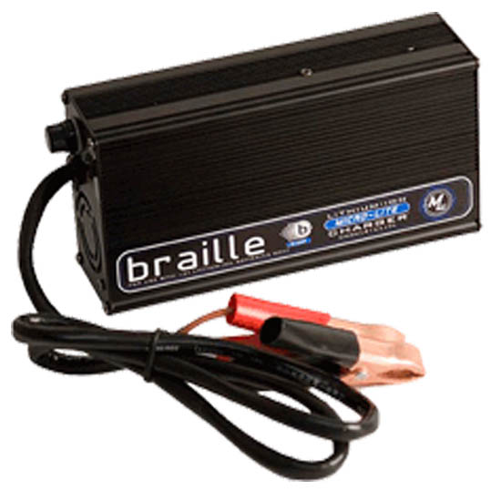 Braille Battery 1236L Lithion Ion Battery Charger, 12 Volt, 6 Amp