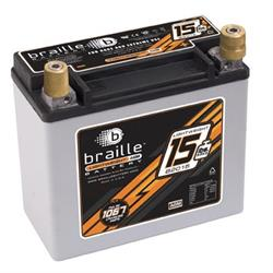 Braille B2015 No-Weight Battery, 425 CCA