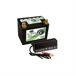 Braille G30C Green-Lite Lithium Ion 12 Volt Battery/Charger Combo